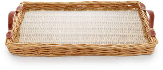 Leather Island Amanda Lindroth Willow Glass And Tray