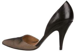 3.1 Phillip Lim Leather d'Orsay Pumps