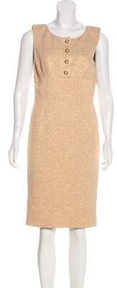 Dolce & Gabbana Sleeveless Metallic Dress