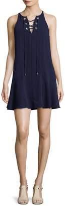 Parker Women's Solid V-Neck Dress