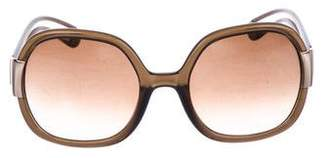 Tory Burch Gradient Oversize Sunglasses