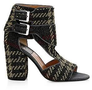Laurence Dacade Women's Rush Tartan Side Buckle Sandals