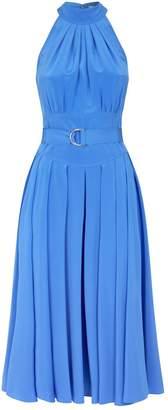 Diane von Furstenberg Silk Crepe de Chine Nicola Midi Dress