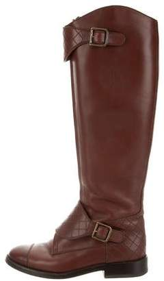 Chanel CC Riding Boots