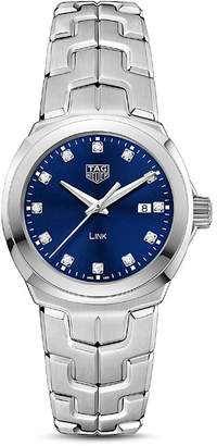 Tag Heuer Link Quartz Diamond Watch, 32mm