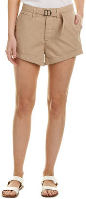 James Perse Belted Short