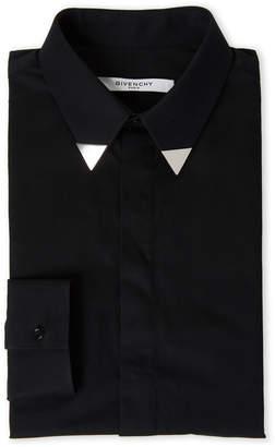 Givenchy Black & Silver-Tone Dress Shirt