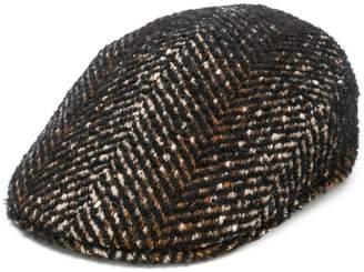 Tagliatore herringbone flat cap