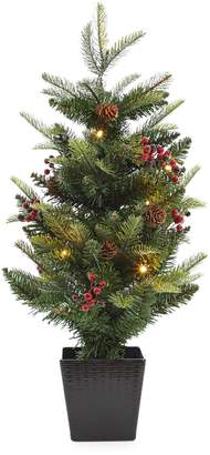 Glucksteinhome Battery-Operated Tabletop Tree