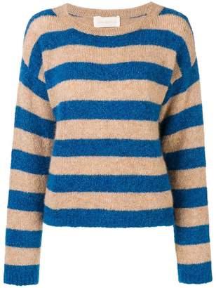 Chiara Bertani striped knit sweater