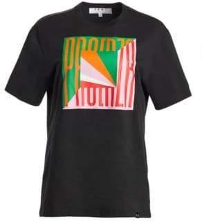 Proenza Schouler PSWL Graphic Cotton T-Shirt