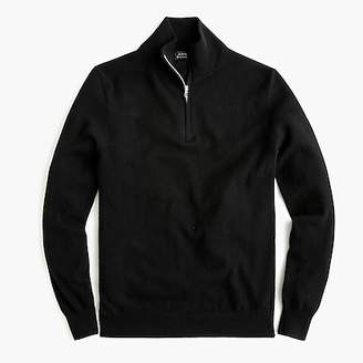 J.Crew Everyday cashmere half-zip sweater