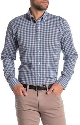 Peter Millar Moshi Melange Check Regular Fit Shirt