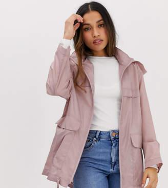 c1330bc394208 Petite Pink Trench Coat - ShopStyle UK