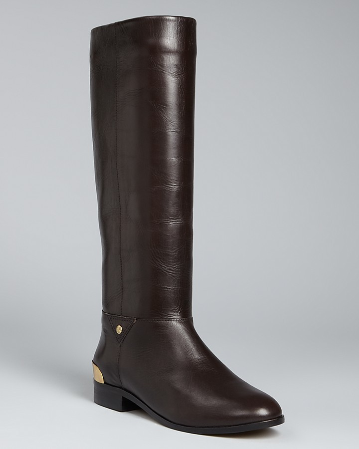 Cynthia Vincent Flat Riding Boots - Wells
