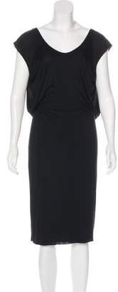 Givenchy Draped Midi Dress