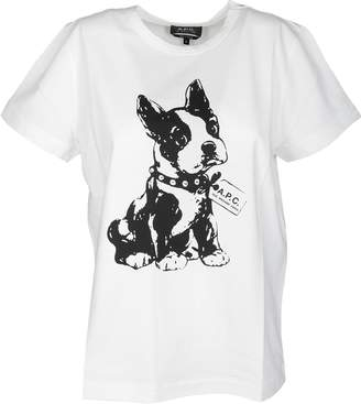 A.P.C. Printed Dog T-shirt