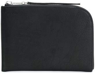 Rick Owens zipped pouch