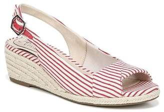 4231db7d6791 LifeStride SHOES Socialite Stripe Espadrille Sandal - Wide Width Available