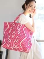 Coen (コーエン) - coen ・Market】ジャガード刺繍ビッグトートバッグ コーエン バッグ