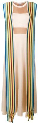 Loewe stripe bands knit dress