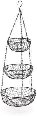 Sur La Table Three-Tier Hanging Basket