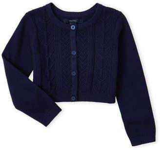 Nautica Toddler Girls) Pointelle Knit Cardigan
