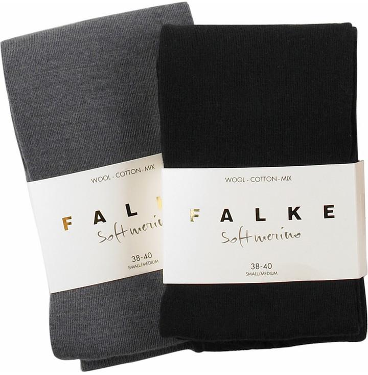 Falke Two pack of merino blend tights