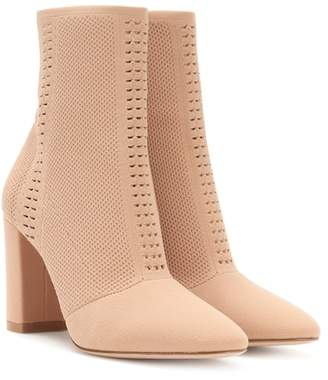 Gianvito Rossi Exclusive to mytheresa.com – Vires knitted ankle boots
