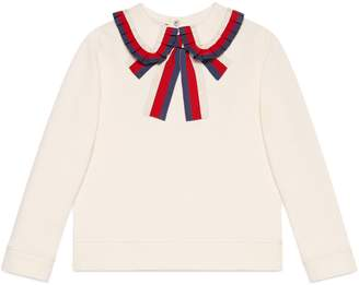 Gucci Children's sweatshirt with Sylvie Web