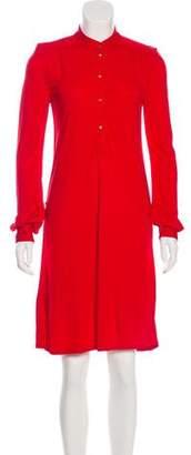 Diane von Furstenberg Mini Long Sleeve Dress