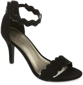WORTHINGTON Worthington Womens Cohen Pumps Zip Open Toe Stiletto Heel
