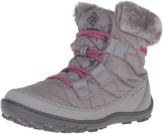 Columbia Girls' Youth Minx Shorty Omni-Heat Waterproof Snow Boot