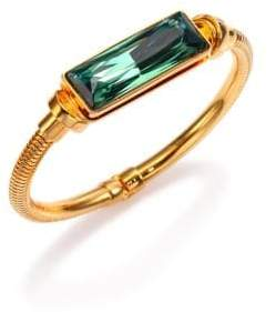 House of Lavande Kemala Crystal Bangle Bracelet
