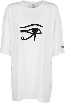 Vetements Eye Printed T-shirt