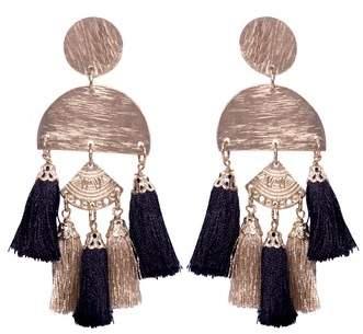 AREA STARS Bali Tassel Earrings