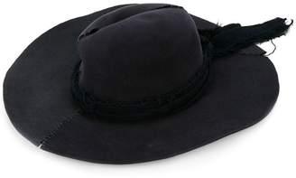 at Farfetch Greg Lauren wide brim hat
