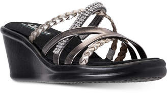Skechers Women's Rumblers - Wild Child Sandals from Finish Line