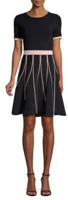 Shoshanna Tinsley Fit-&-Flare Dress