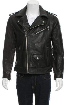 Marc by Marc Jacobs Leather Moto Jacket