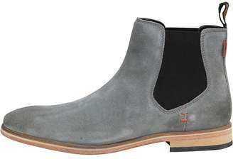 Mens Meteor Chelsea Boots Grey Suede