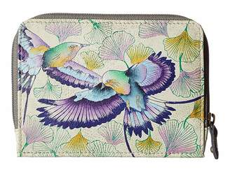 Anuschka 1124 Zip Around Credit Card Case