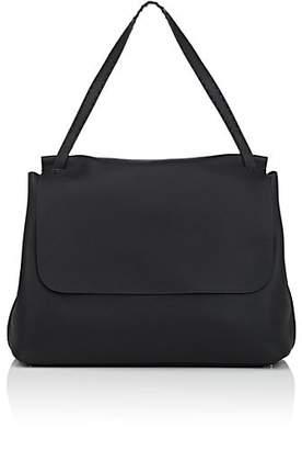 The Row Women's Top-Handle 14 Leather Satchel - Black