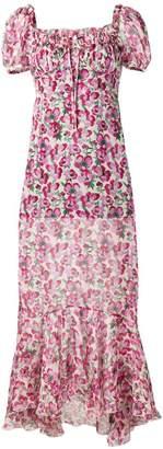 Raquel Diniz floral chiffon dress