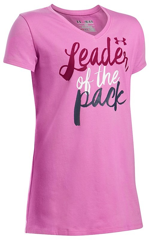 Under Armour Girls' Leader Of The Pack Tech Tee - Sizes S-XL