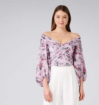 Forever New Shay Shawl Off Shoulder Top
