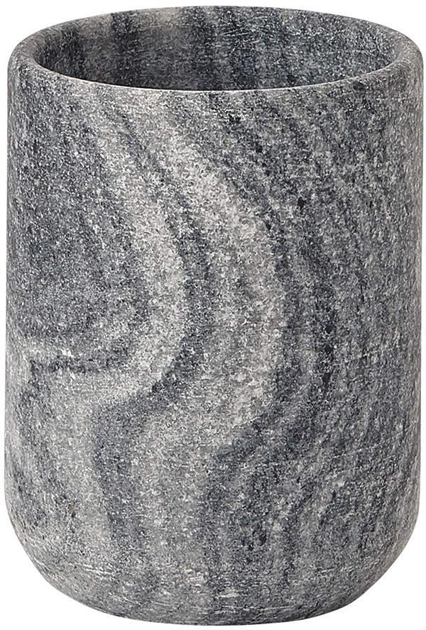 Aquanova – Flint Toothbrush Holder – Silver Grey