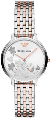 Emporio Armani Women's Two-Tone Stainless Steel Bracelet Watch 32mm