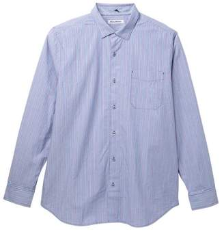 Tommy Bahama Tallahassee Stripe Print Shirt (Big & Tall)