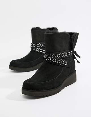 UGG Black Ankle Boots